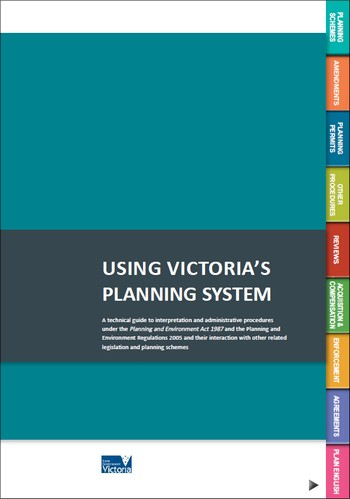 Download the guide to Using Victoria's Planning System