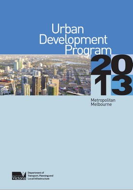 2013 UDP Report Cover
