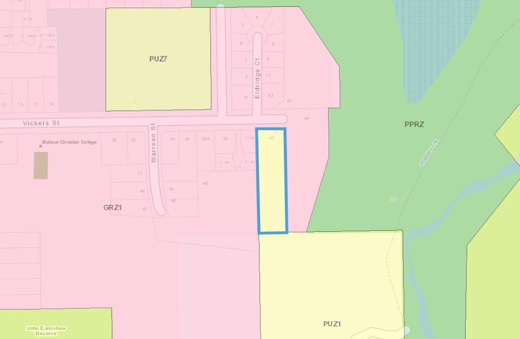 Aerial view of 42 Vickers Street, Sebastapol