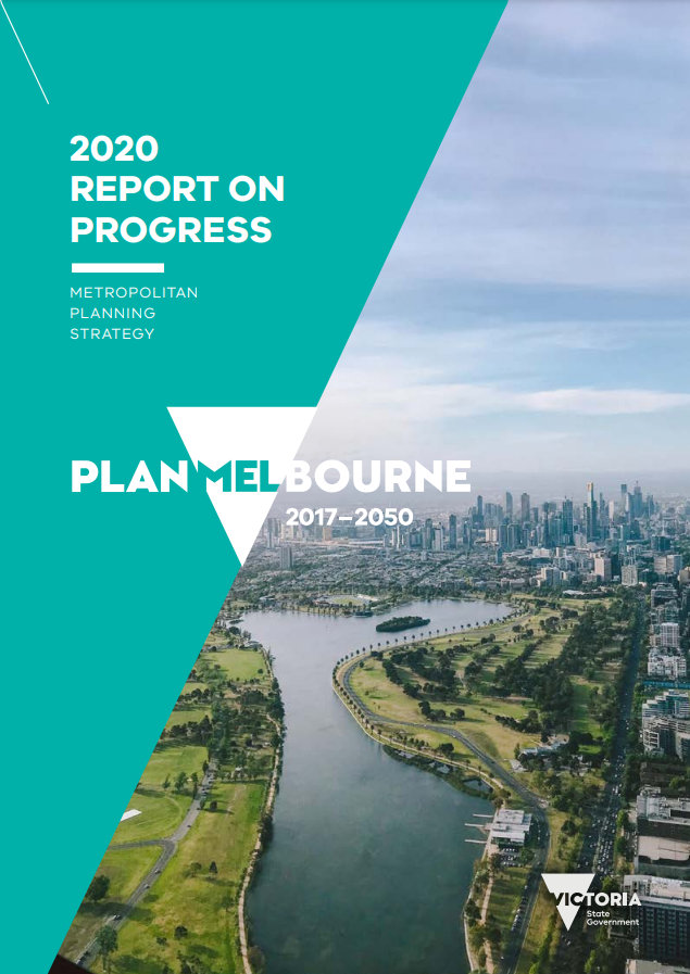 Report on progress 2020 report cover image