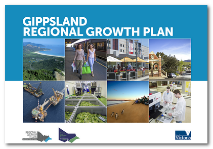 Cover image of the Gippsland Regional Growth Plan