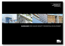 Cover of the Higher Density Residential Development Guidelines