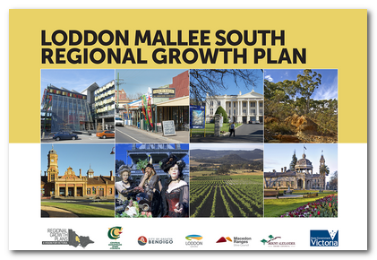 Cover image of the Loddon Mallee South Regional Growth Plan