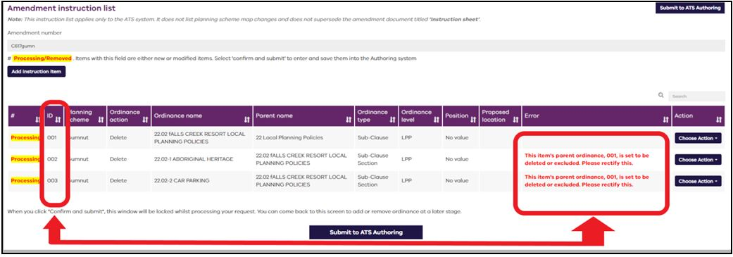 Submit to ATS Authoring