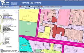Planning Maps Online