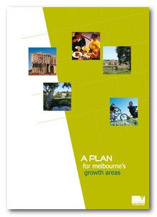 A plan for Melbournes growth areas cover