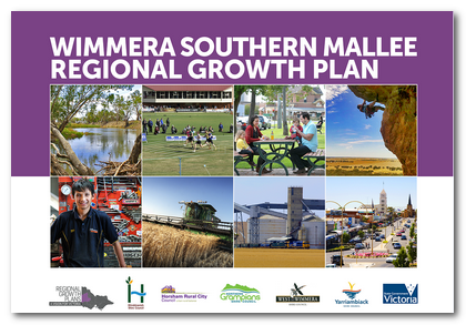 Cover image of the Wimmera Southern Mallee Regional Growth Plan
