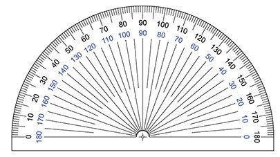 Image of protractor